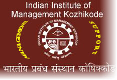 Management Support from IIMK